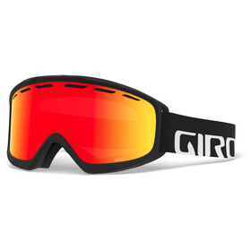 Giro Index Masque, black/vivid ember